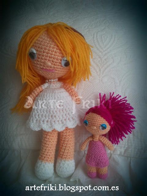 muñeca amigurumi crochet ganchillo doll