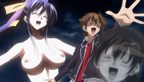 High School DxD Ova 2 (Sin Censura) Sub Español MP4 HD y LIGERO Mega Multi Served