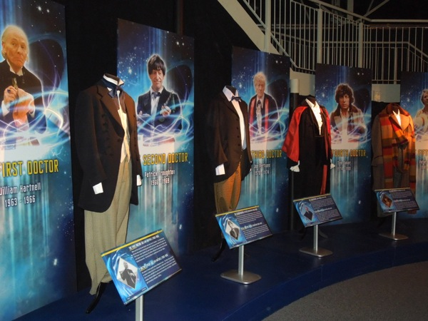Doctor Who costumes First to Fourth Doctor