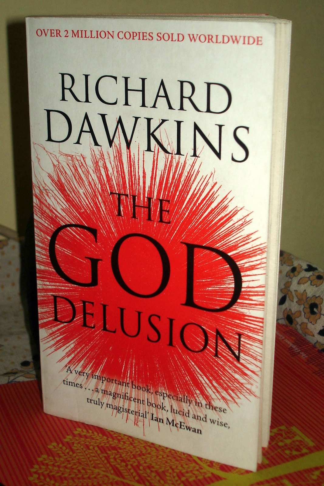 the god delusion The famous atheist views religion as absurd and pointless he says god is not different from the tooth fairy.