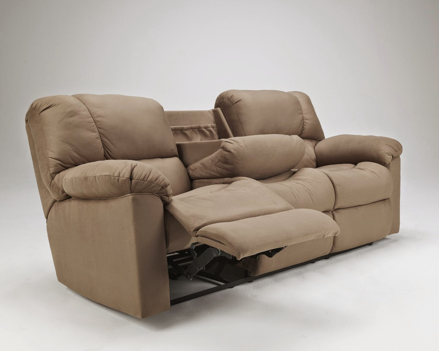 Cheap Reclining Sofas Sale: Eli Cocoa Reclining Sofa Review