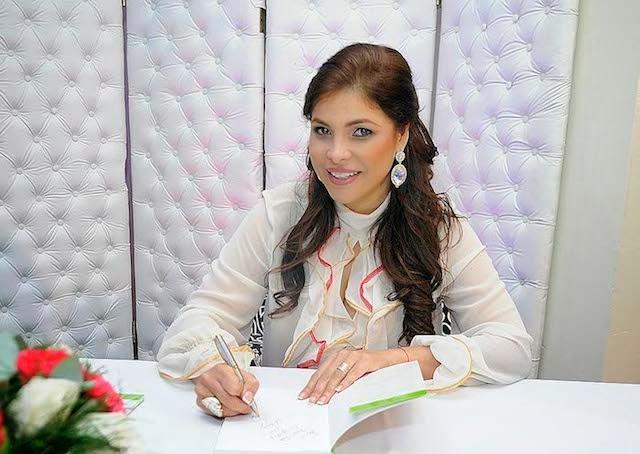 Nikauly de la Mota ministra consejera de la Embajada de la República Dominicana en México.