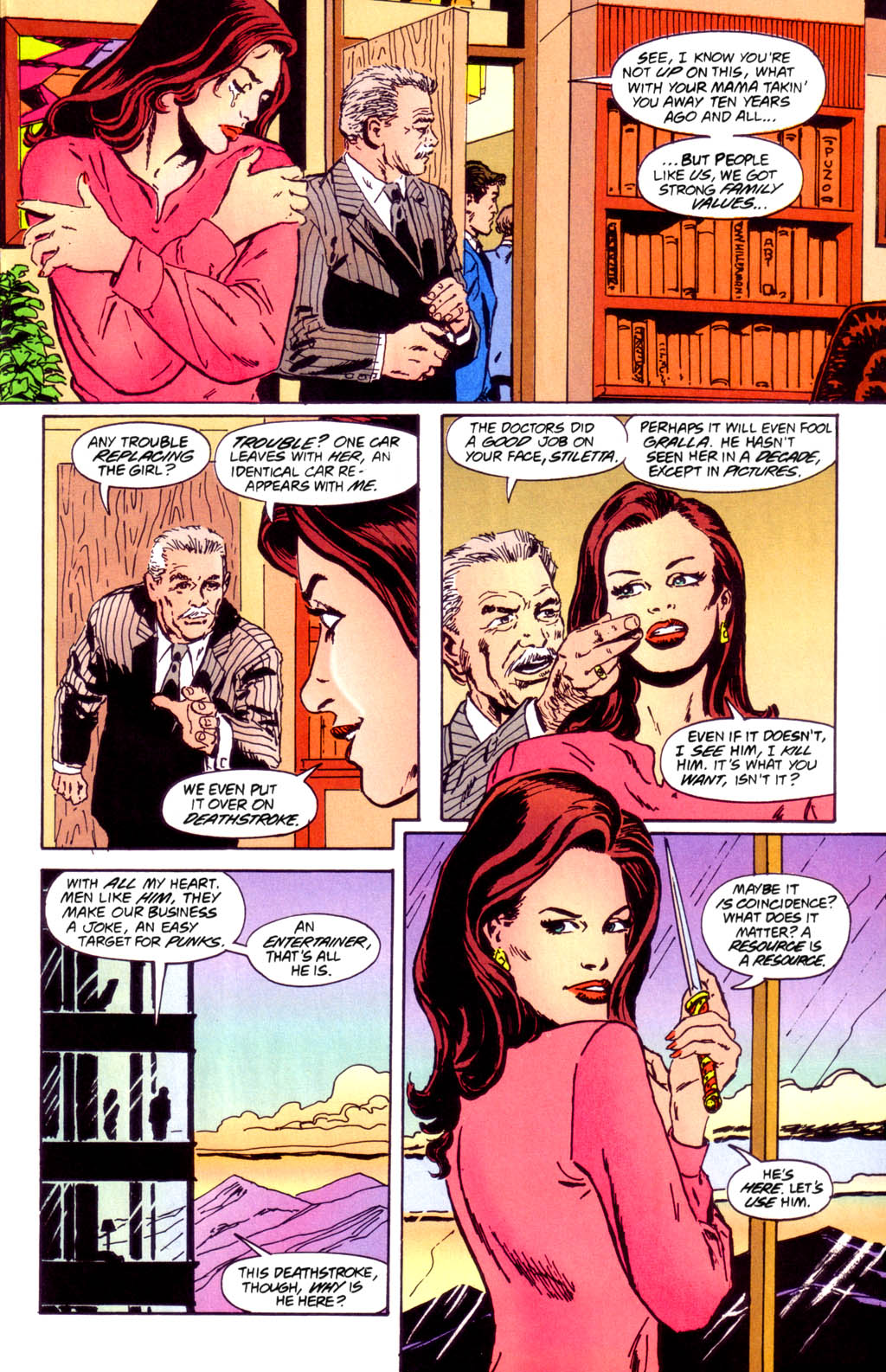 Deathstroke (1991) Issue #40 #45 - English 10