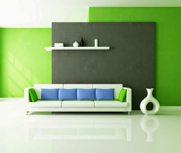 Living room color schemes 20 green blue color combinations for Room design color combinations