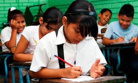 Inicio de Clases 2015 Nicaragua