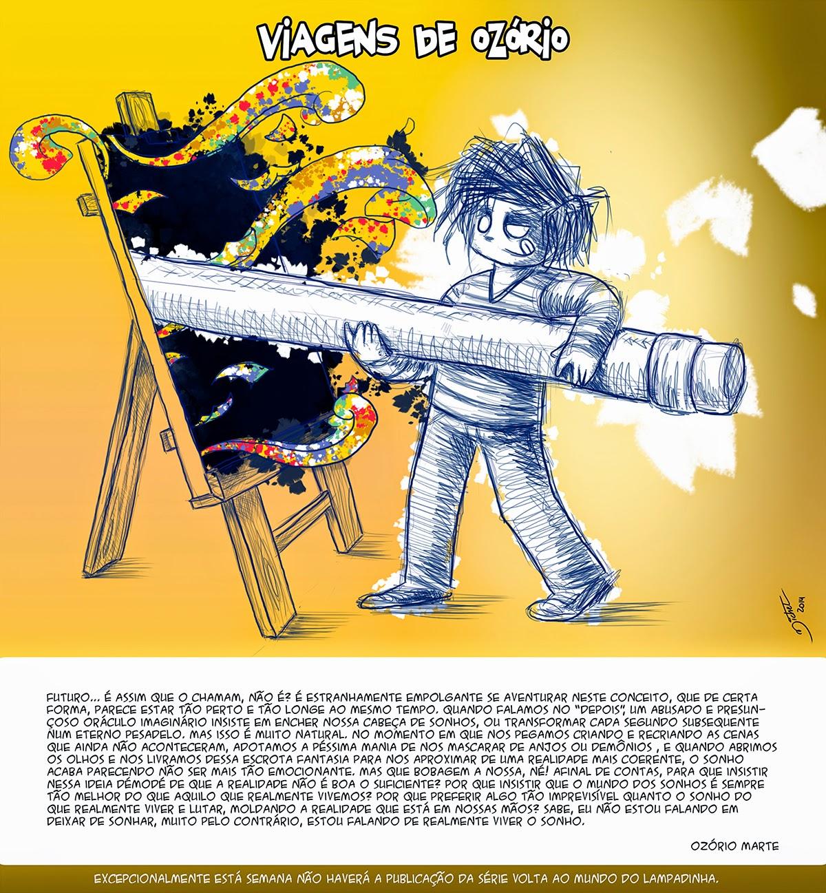 Viagens de Ozório #14 - Estranha Noite - Michel Ramalho