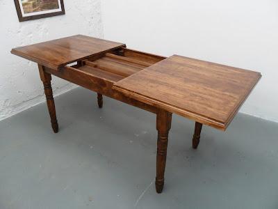 Fanticgirl nuestra nueva mesa extensible de quita y pon - Comoda mesa extensible ...