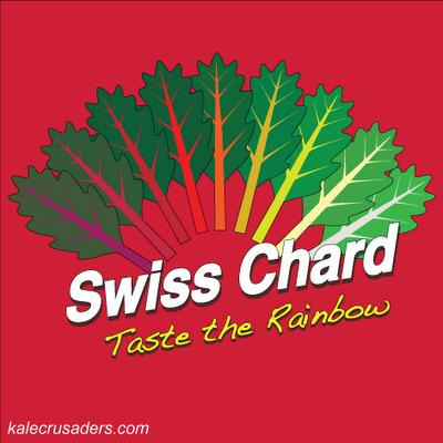 Swiss Chard - Taste the Rainbow