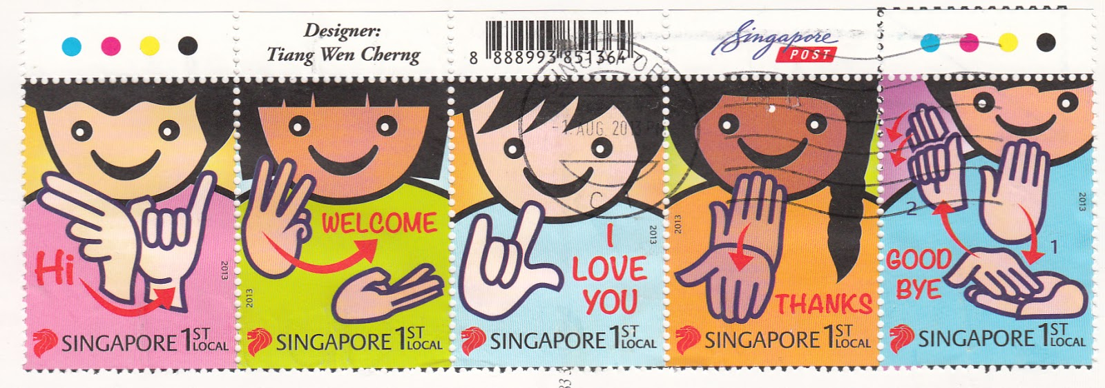 Singapore Language Greetings Images Greetings Card Design Simple
