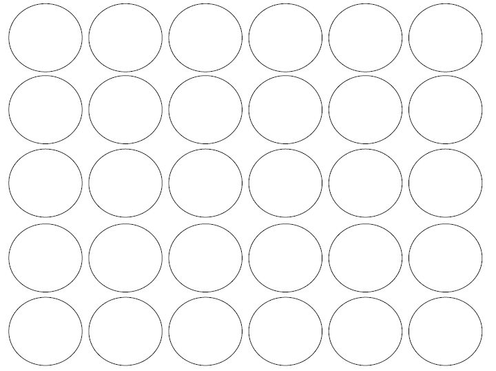 30 Circle Test Proste ćwiczenie Na Kreatywność Natural