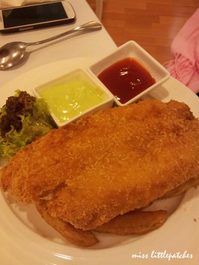 Wasabi Fish & Wedges