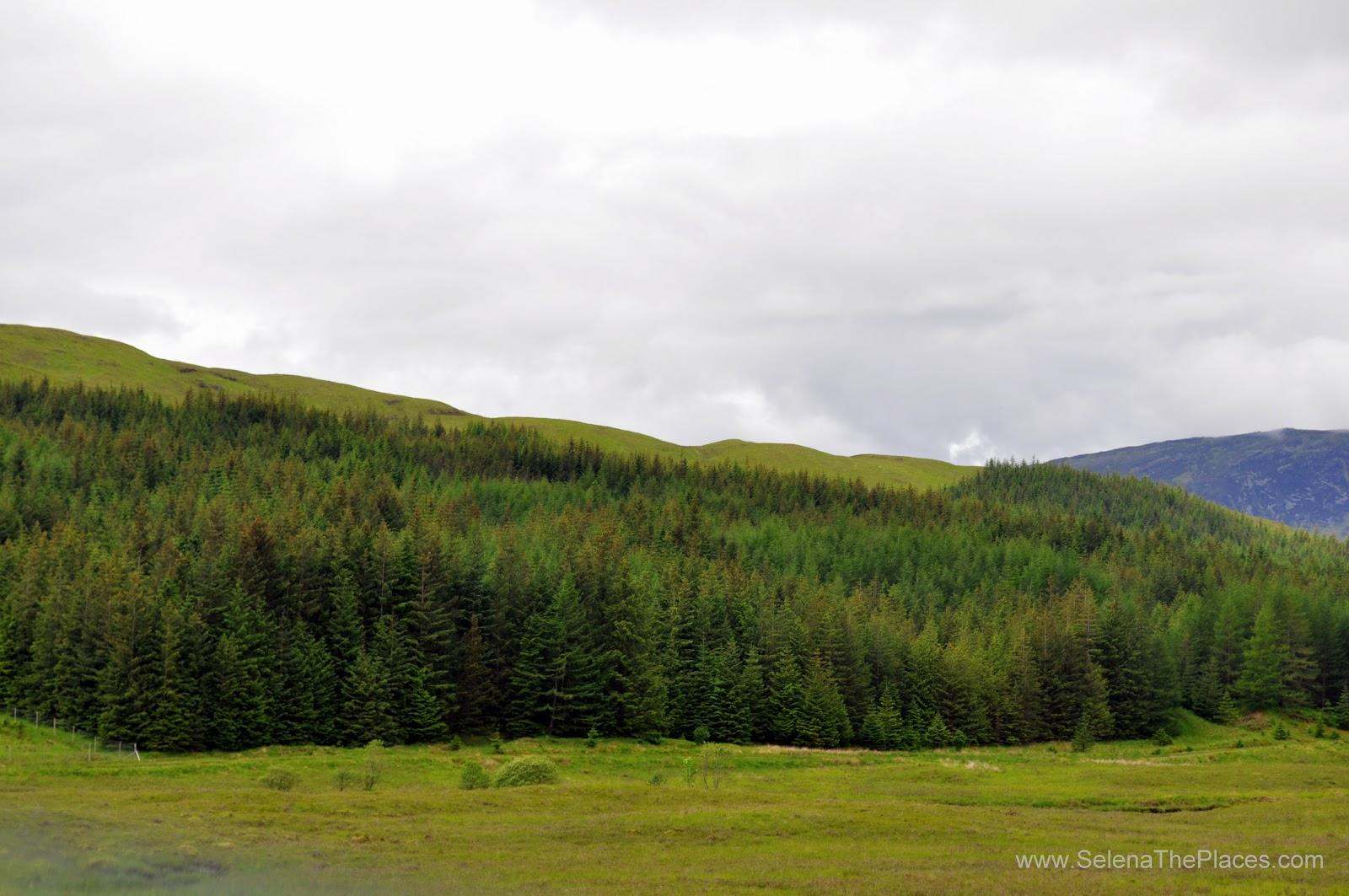 Loch Lomand an The Trossachs in Scotland