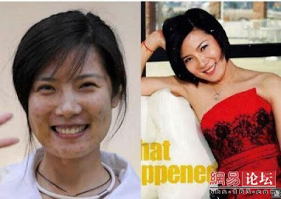 Before And After Makeup Asian Babes (71 Pics)