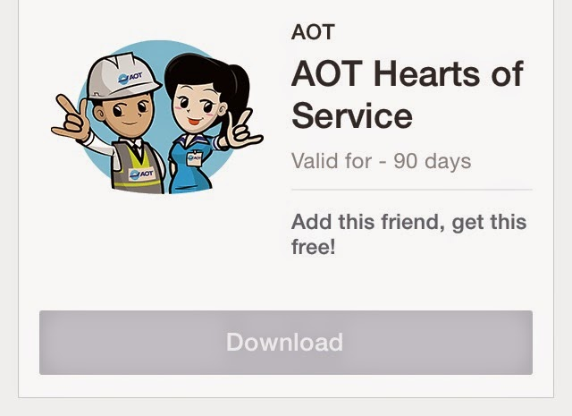 AOT Hearts of Service stickers