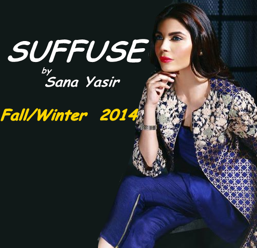 Suffuse by Sana Yasir Winter Collection 2014-15