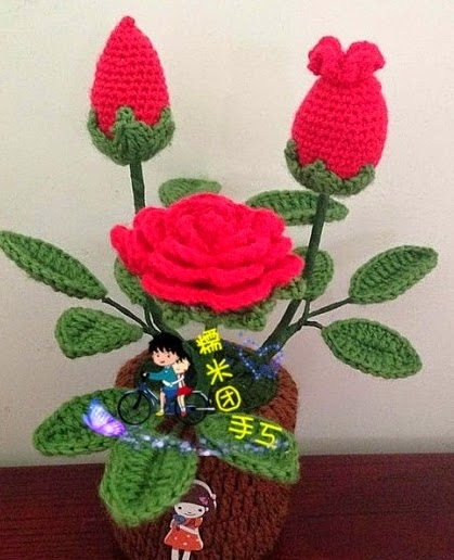 Flores crochet aprender manualidades es - Manualidades a crochet paso a paso ...