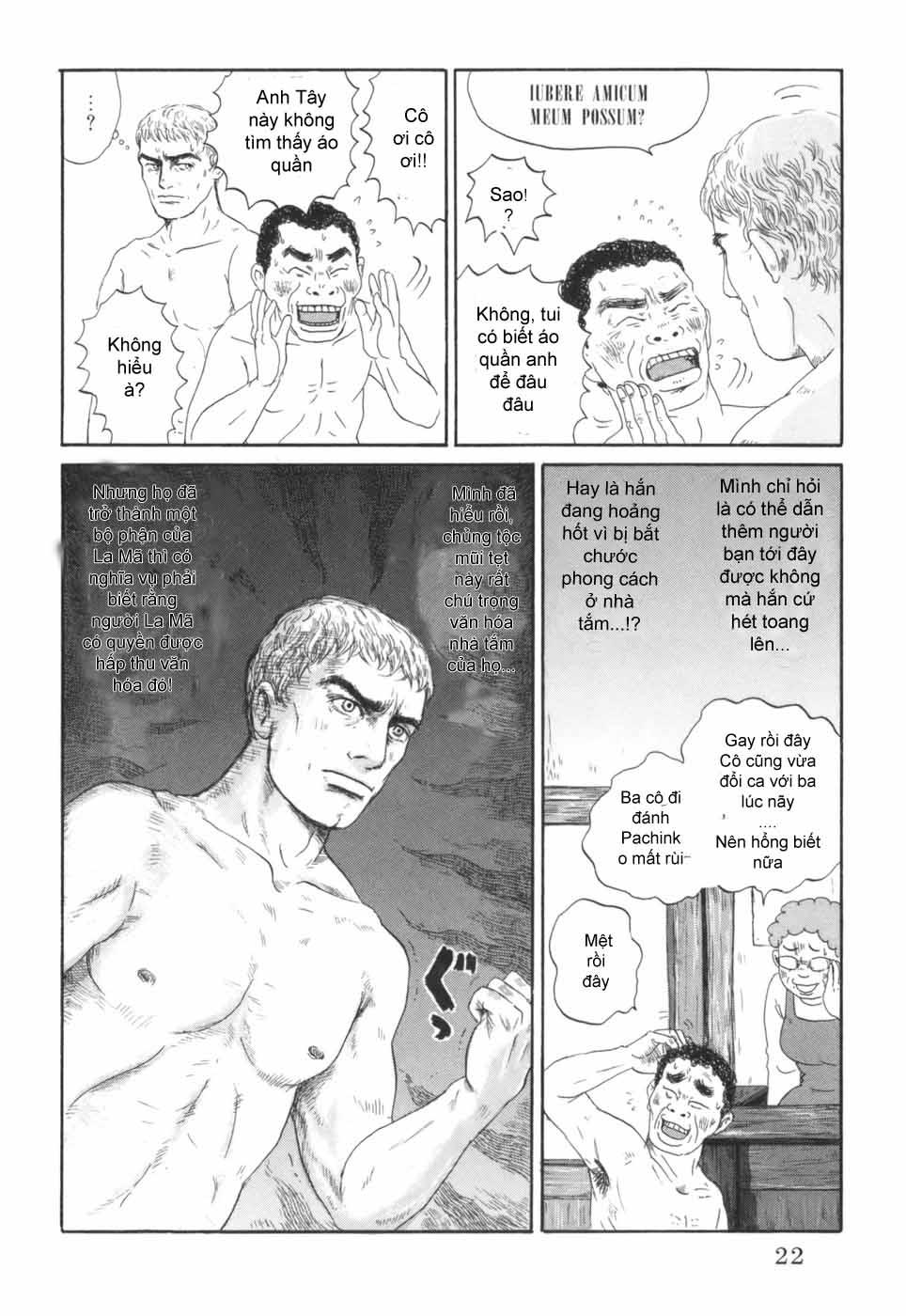 Thermae Romae chap 1 - Trang 27