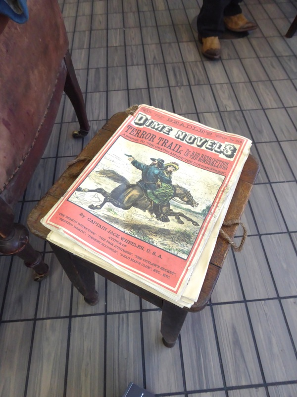 The Hateful Eight Dime Novels movie prop
