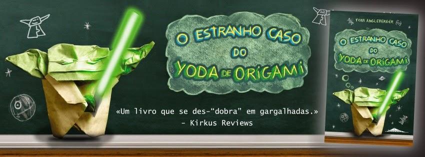 Aparador Sala De Jantar Moderno ~ O Estranho Caso do Yoda de Origami [Booksmile] ~ Livros Nas Estr
