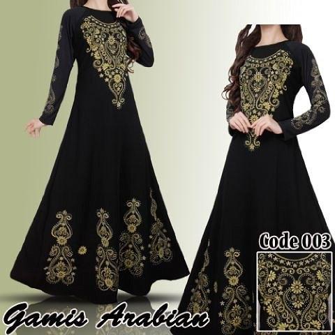 Gamis Arabian Lukis
