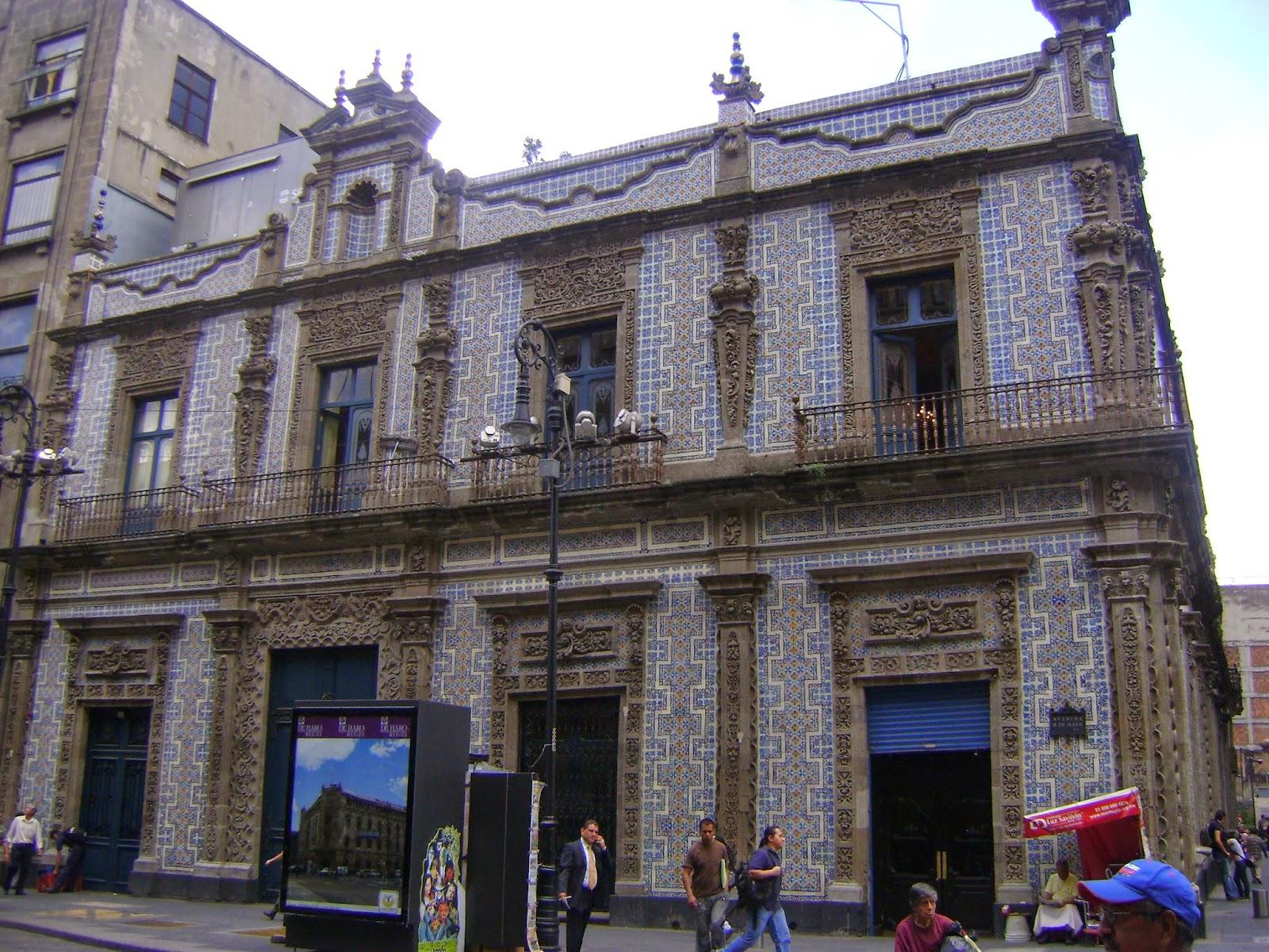 Diarios de viaje odv y rcl palacio de los azulejos for Casa de los azulejos ciudad de mexico