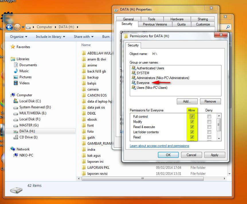 [Panduan Pemula] Cara Sharing File/Folder dan Drive di Windows (7, 8, dan 8.1)