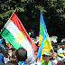 أمازيغ المغرب يحتجون  أمام سفارة تركيا تضامنا مع  الكورد في كوباني