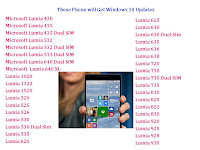 These Phone will Get Windows 10 Updates,list of phones will get windows 10 updates,windows 10 update phones,windows 10 for phones,phones will get windows 10 update,how to update windows 10 in phone,lumia phone windows 10 update,list of phones,windows 10 for phone,Lumia 535,Lumia 640 XL,Lumia 435,Lumia 1320,Lumia 1520,Lumia 920,Lumia 930,confirmed phones of windows 10,when will windows 10 update for phone,windows 10 phone,windows 10 OS List of phone will get windows 10, Windows 10 update for these phones.  Click this link for more detail...    Microsoft Lumia 430 Microsoft Lumia 435 Microsoft Lumia 435 Dual SIM Microsoft Lumia 532 Microsoft Lumia 532 Dual SIM Microsoft Lumia 535 Dual SIM Microsoft Lumia 640 Dual SIM Microsoft  Lumia 640 XL Lumia 1020 Lumia 1320 Lumia 1520 Lumia 520 Lumia 525 Lumia 526 Lumia 530 Lumia 530 Dual Sim Lumia 535 Lumia 620 Lumia 625 Lumia 630 Lumia 630 Dual Sim Lumia 635 Lumia 636 Lumia 638 Lumia 720 Lumia 730 Lumia 730 Dual SIM Lumia 735 Lumia 810 Lumia 820 Lumia 822 Lumia 830 Lumia 920 Lumia 925 Lumia 928 Lumia 930