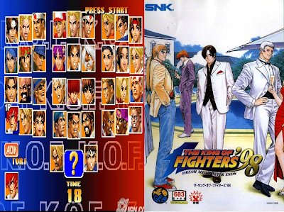 The King Of Fighters 98 Dream Match Never Ends PC DVD Capa