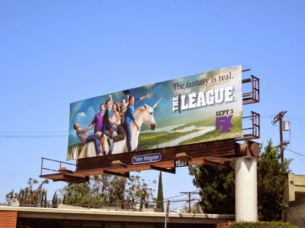 The League season 6 FXX billboard