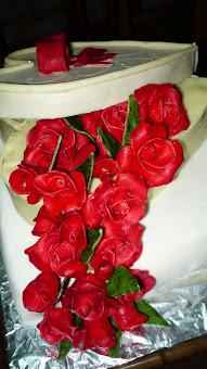 Cutiuta cu trandafiri