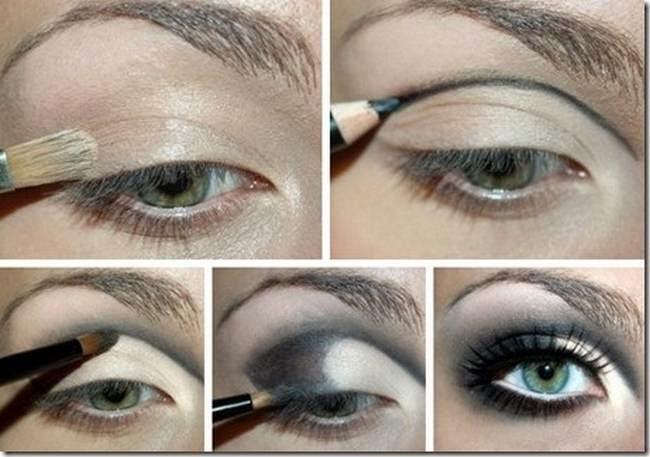 Мастер класс макияжа глаз в