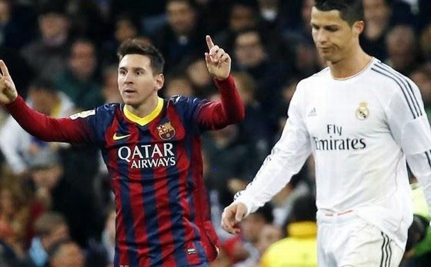 Messi Kalahkan Ronaldo di Daftar Penyerang Terbaik Eropa
