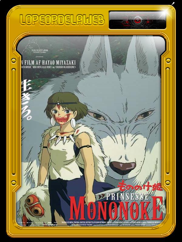 Mononoke-Hime (La Princesa Mononoke) (1997) 720p-Trial-Mega