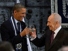 Peres Honors POTUS At Israel State Dinner
