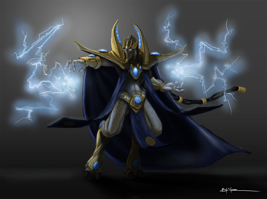 Some Starcraft 2 practices (Protoss)