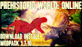 HOW TO INSTALL<br>Prehistoric world: Online Modpack [<b>1.7.10</b>]<br>▽