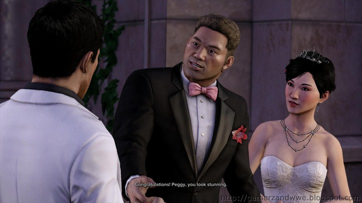 Winston Peggy and Wei Shen during The Wedding