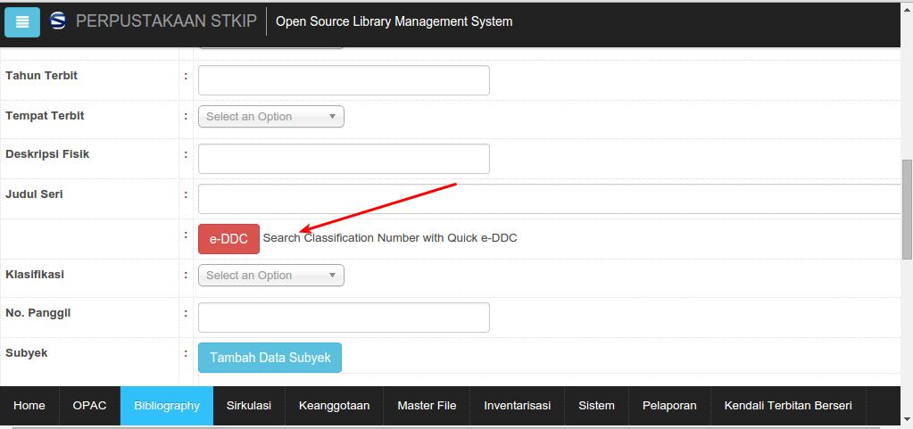 Install Plugin e-DDC di SLiMS