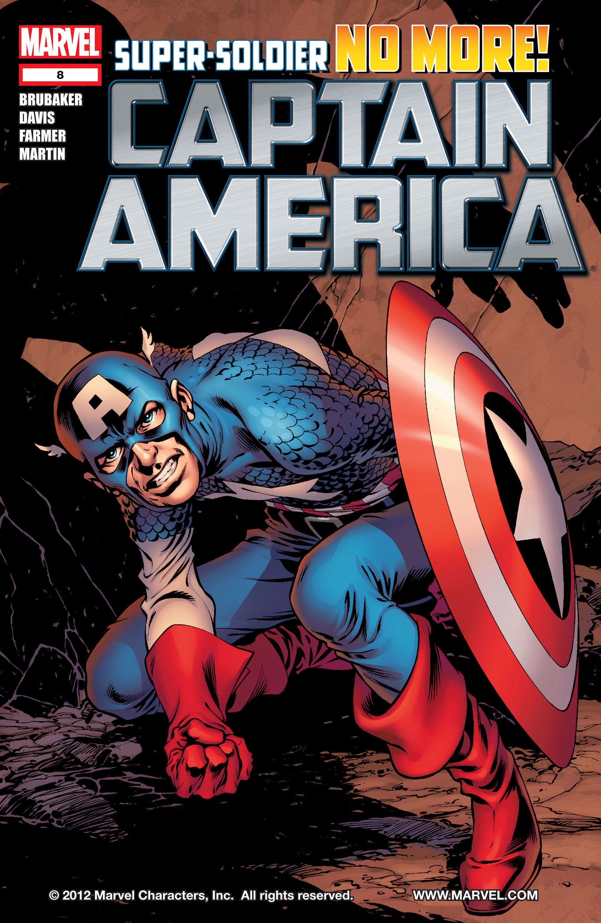 Captain America (2011) Issue #8 #8 - English 1