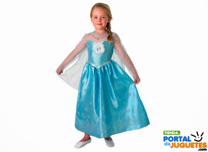 disfraz elsa frozen para niña