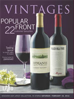 Feb. 18 LCBO Vintages magazine