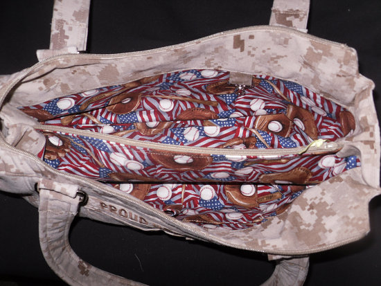 With the improved interfacing, this purse is more rigid so hopefully