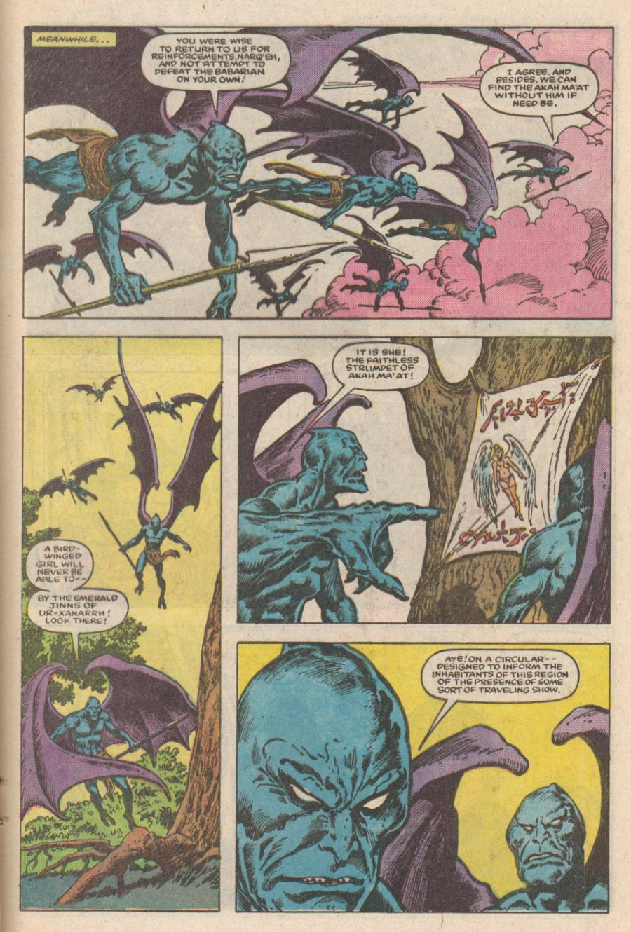 Conan the Barbarian (1970) Issue #168 #180 - English 16