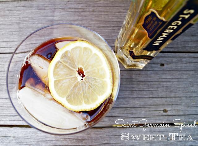 st germain sweet tea