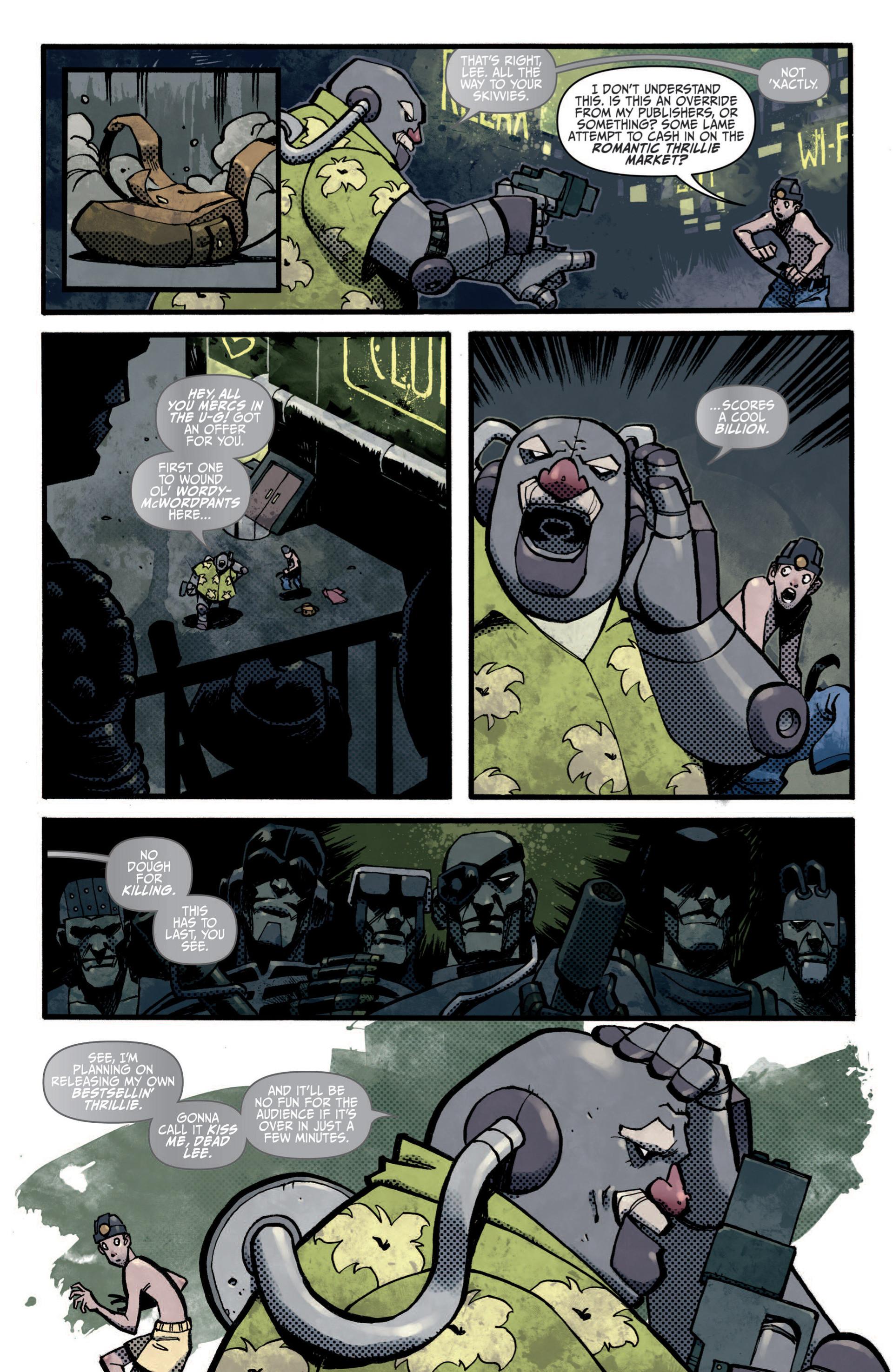 Read online Judge Dredd (2012) comic -  Issue #5 - 5