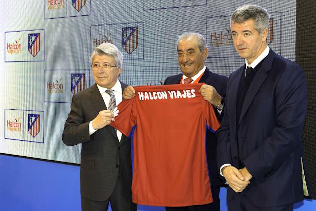 El Atlético viajará con Halcón Viajes
