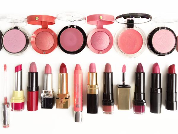 """Résultat de recherche d'images pour """"rouge à lèvres en fard à joues"""""""