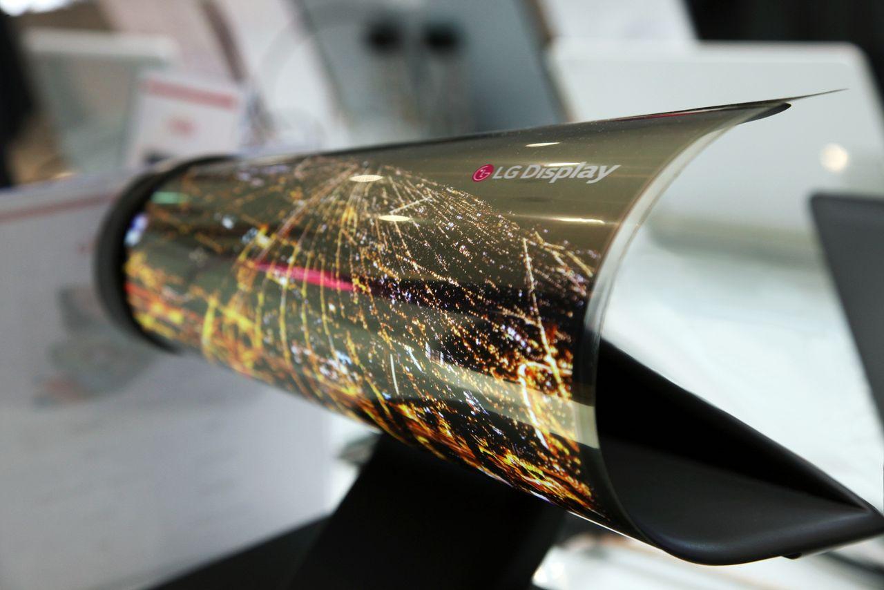 LG paper display