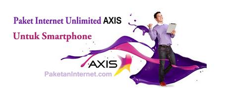Daftar Paket Internet AXIS Untuk Smartphone